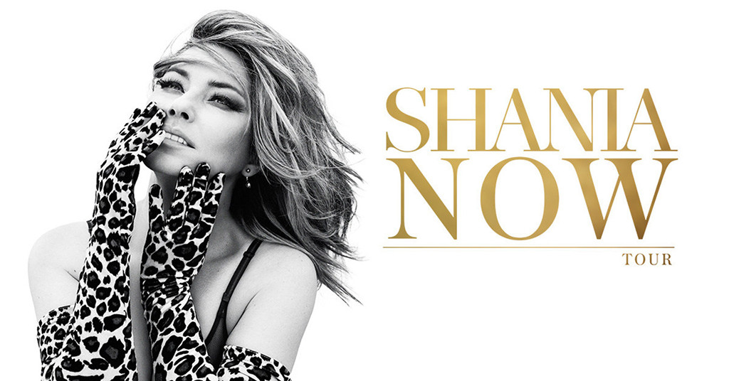 Shania Twain, Now Tour