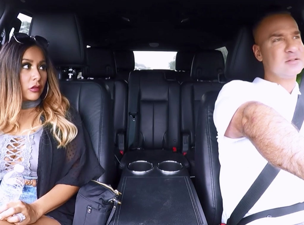See Snooki Create an Awkward ''Situation'' With Mike on Reunion Road Trip: ''How Many Women Do You Think You've Slept With?'' - E! NewsReunion Road Trip: See Snooki & The Situation's LOL Sex Talk - 웹