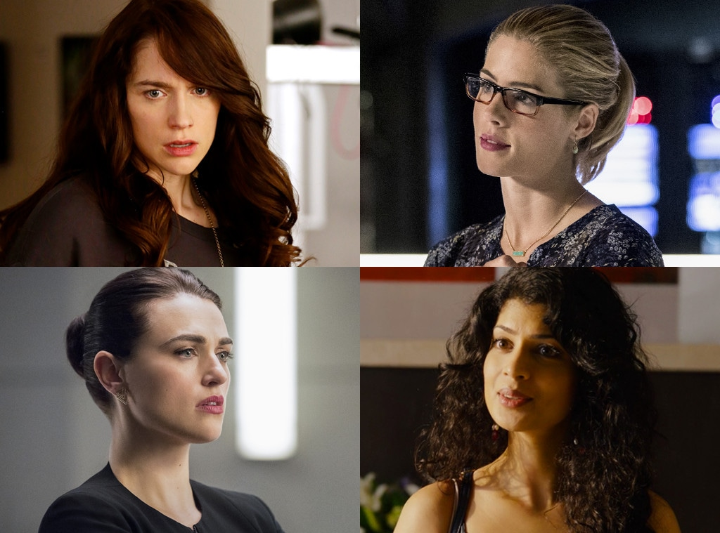 Girl on Top, Melanie Scrofano,  Wynonna Earp, Katie McGrath, Supergirl, Tina Desai, Sense8, Emily Bett Rickards, Arrow