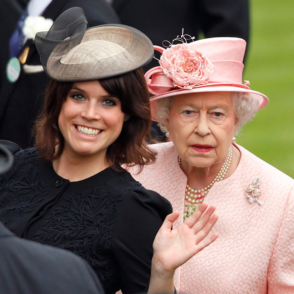 Princess Eugenie, Queen Elizabeth