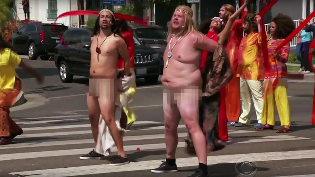 Lin-Manuel Miranda, James Corden, Crosswalk the Musical: Hair