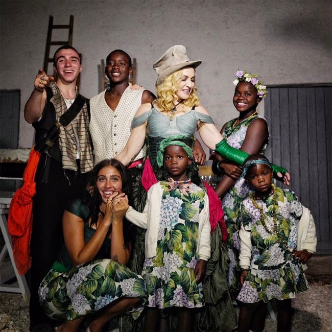 Madonna Celebrates Birthday With All 6 Kids And Shares Rare Family