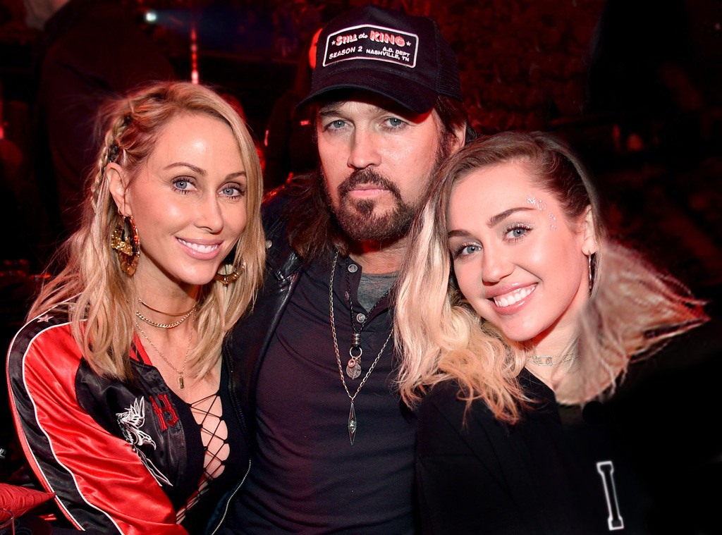 Tish Cyrus, Billy Ray Cyrus, Miley Cyrus