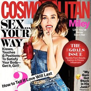 Miley Cyrus, Cosmopolitan, September 2017