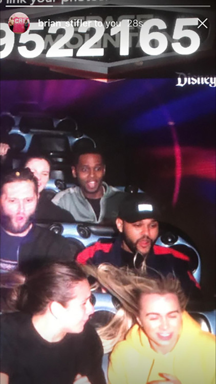 The Weeknd, Space Mountain