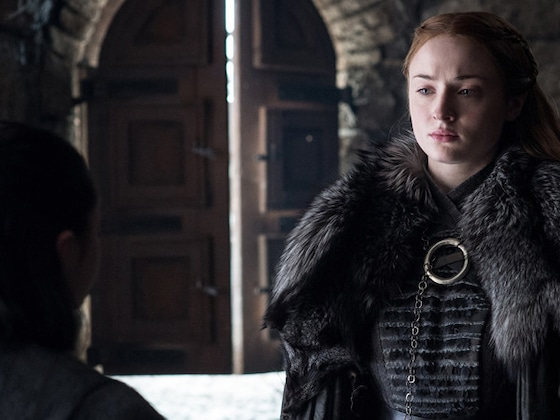 Want to Know How <I>Game of Thrones</i> Ends? Sophie Turner Told Her Friends...</I>