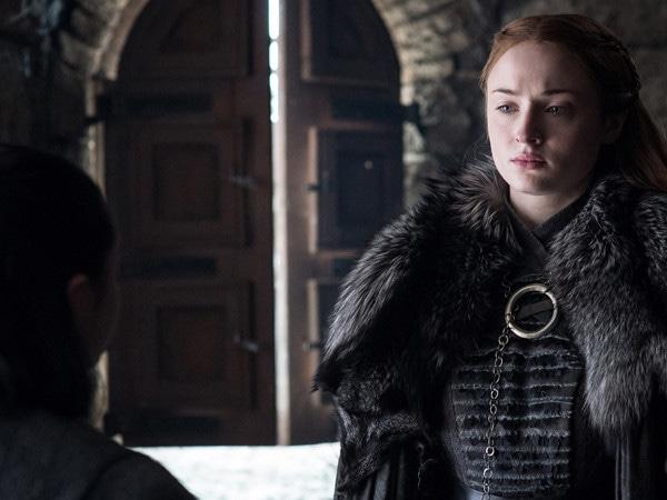 Sophie Turner revelou o final de Game of Thrones para os seus amigos