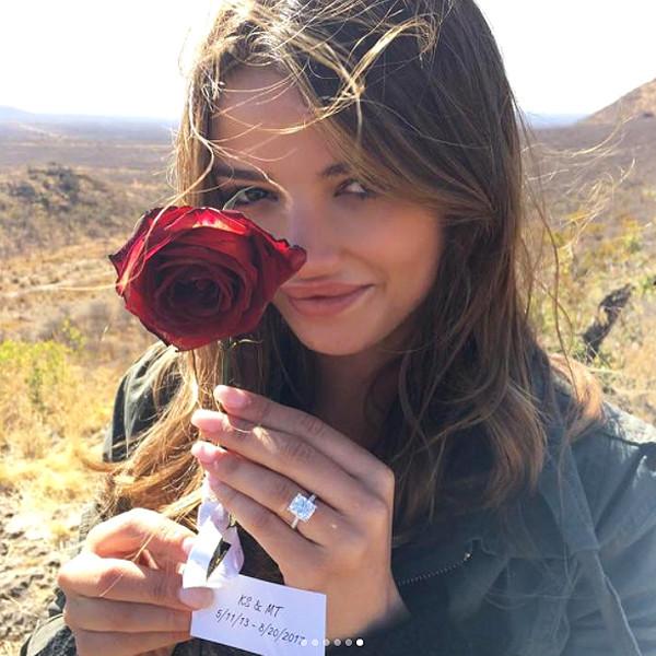 Keleigh Sperry, Miles Teller, Engagement