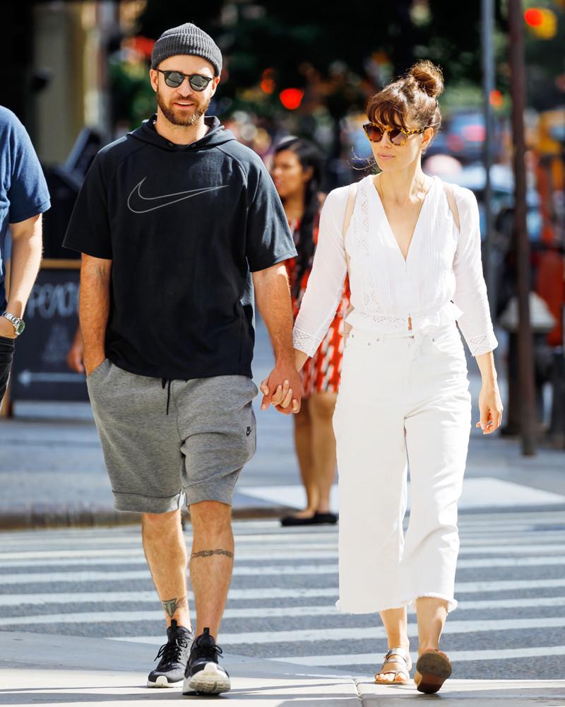 ESC: Justin Timberlake, Jessica Biel, Couple Style