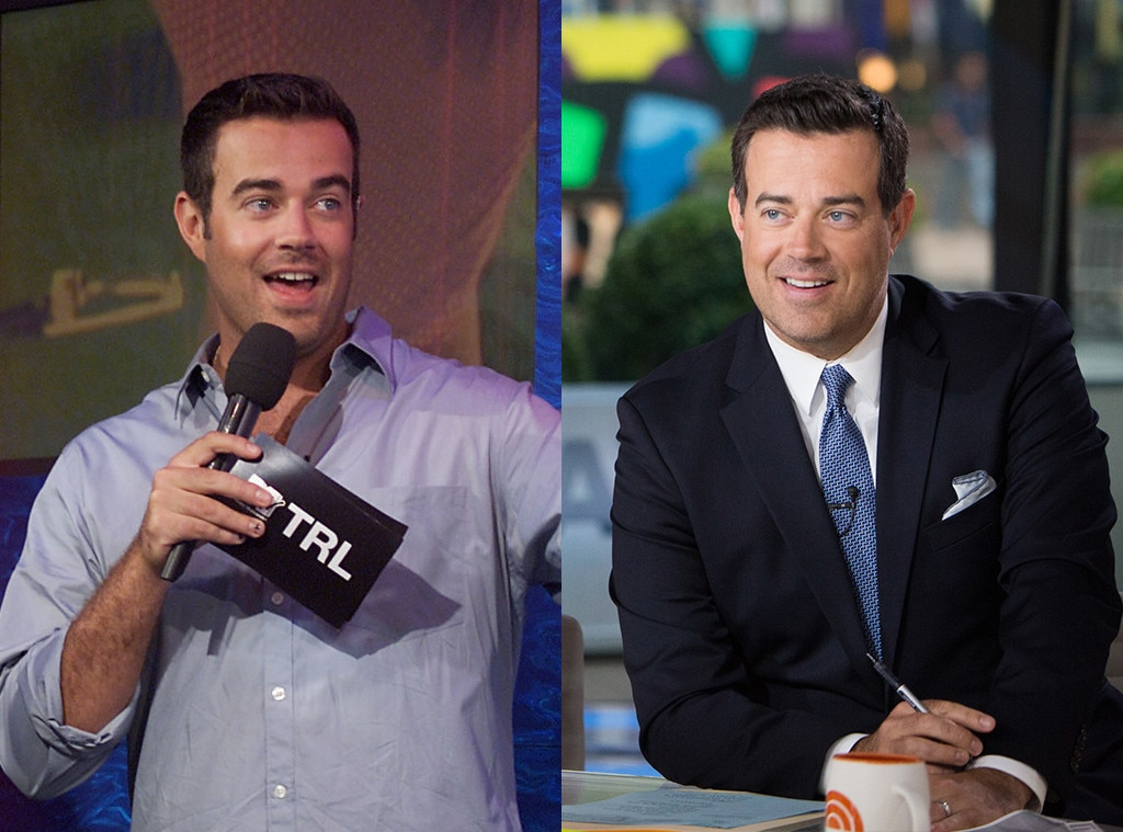 MTV VJs, Carson Daly, Then and Now