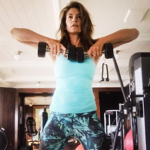 ESC: Cindy Crawford, Workout