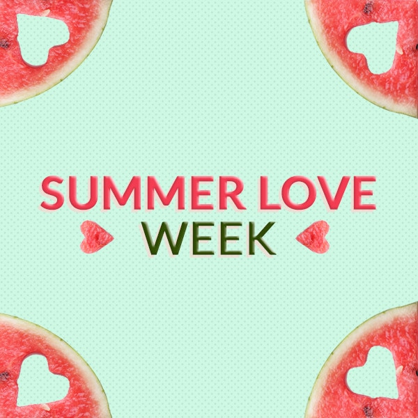 Summer Love Week, Photo Gallery Banner / Badge