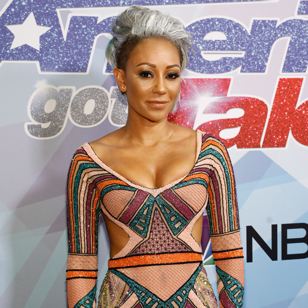 "Mel B Explains Her America's Got Talent Drink Throw: ""What You See Is What You Get"""