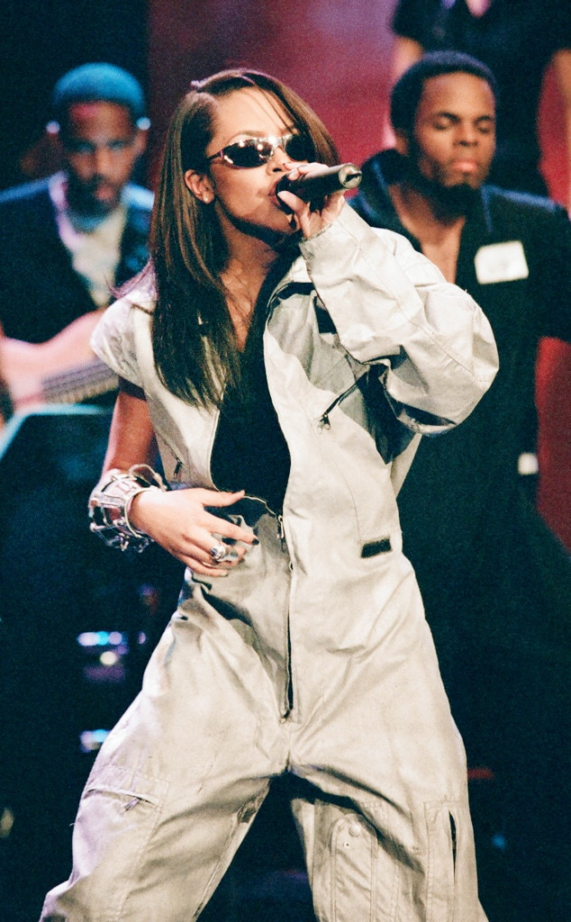 Aaliyah's '90s Fashion Is Back on Trend-Shop Her Looks! | E