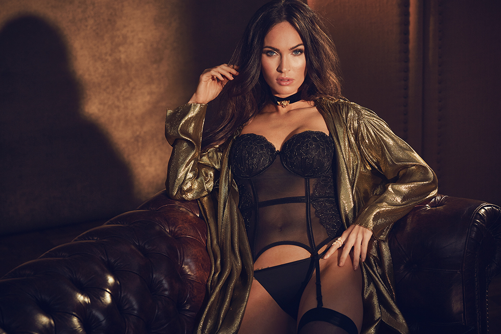 a98957322b6 Megan Fox's Latest Lingerie Campaign Is Too Hot to Handle | E! News