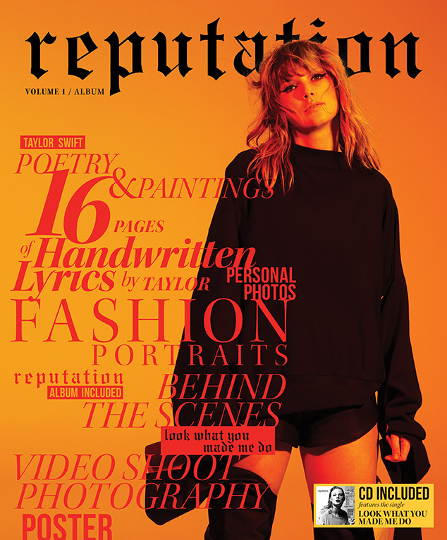Taylor Swift, Reputation Magazine
