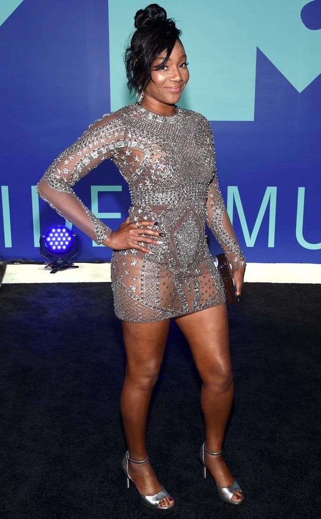 Tiffany Haddish From Mtv Video Music Awards 2017 Red -1320