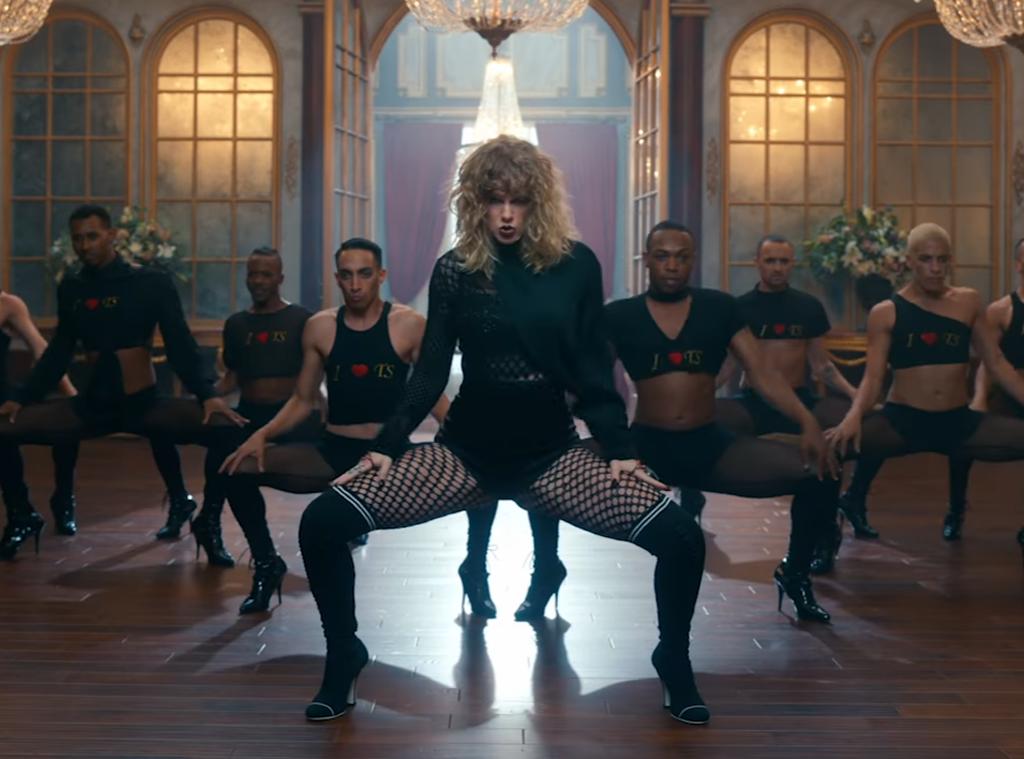 Taylor Swift manda flores para dançarinos do clipe de Look What You Made Me Do