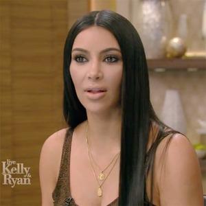 Kim Kardashian, Live With Kelly and Ryan