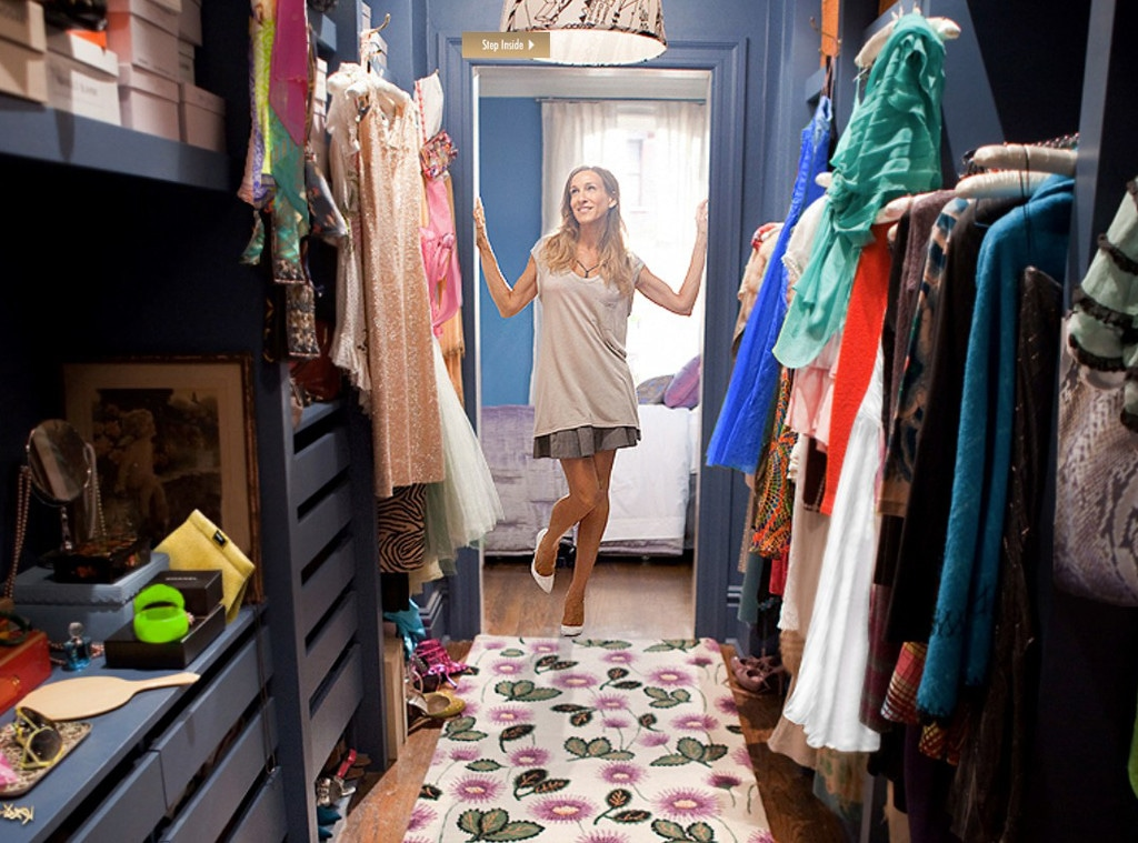 Carrie Bradshaw Closet, Sex and the City