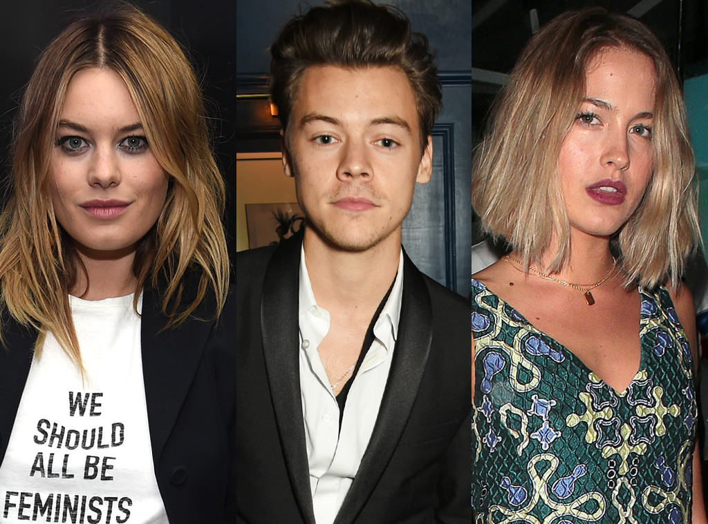 Camille Rowe, Harry Styles, Tess Ward