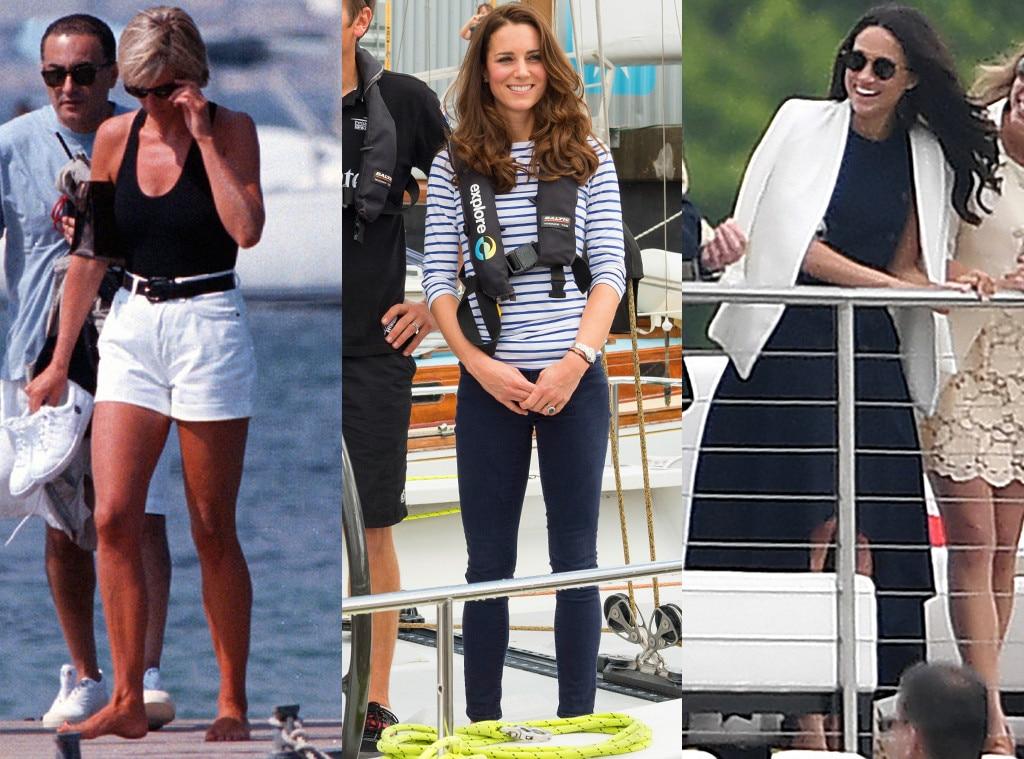 How Princess Diana, Kate Middleton \u0026 Meghan Markle\u0027s Style