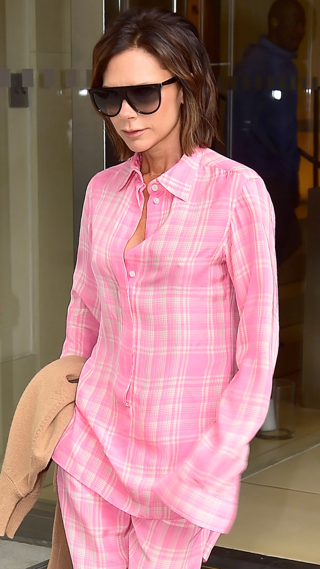 Photo #789304 from Victoria Beckham Is Pretty in Pink PJs | E! News