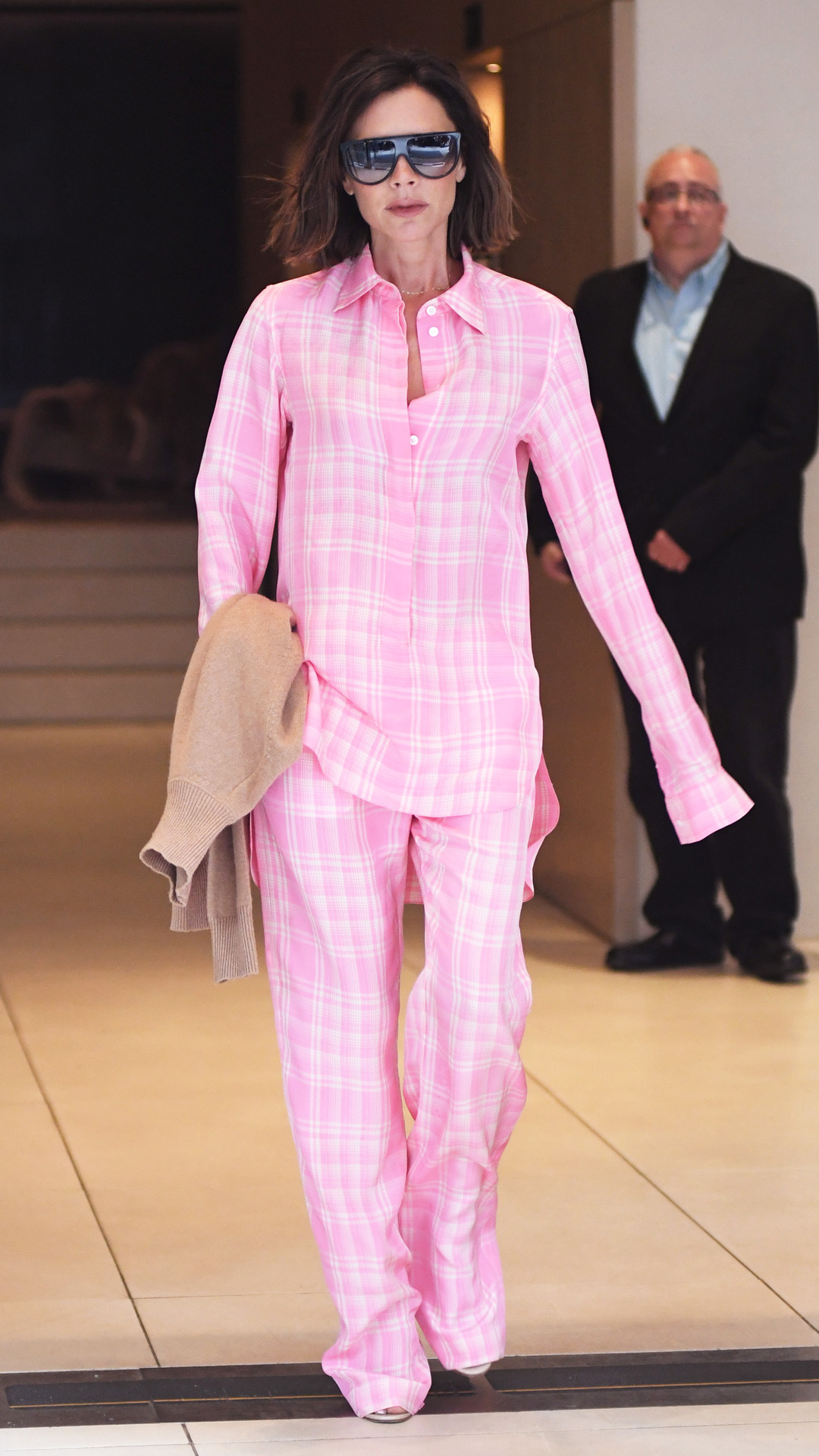 So...Did Victoria Beckham Just Wear Pajamas in Public? | E! News UK
