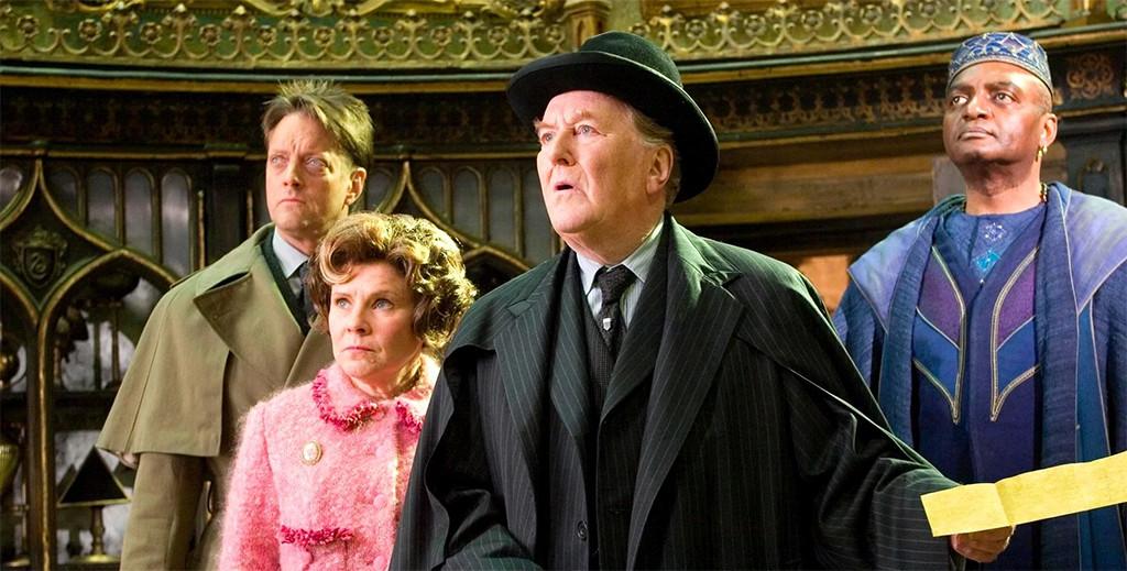 Robert Hardy, Cornelius Fudge, Harry Potter