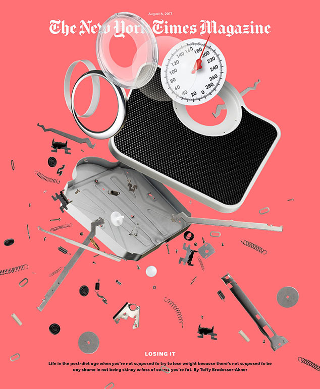 The New York Times Magazine, cover, dieting