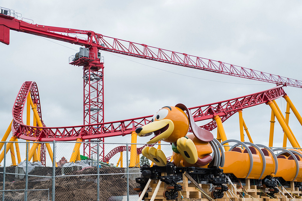 Slinky Dog Dash, Disney World