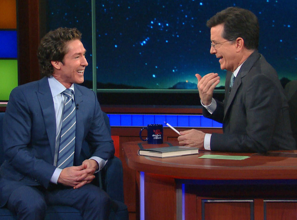 Joel Osteen, The Late Show, Stephen Colbert