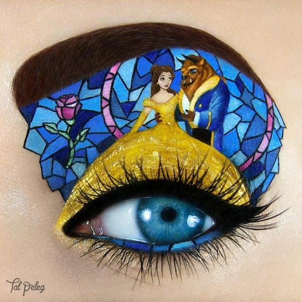 Tal Peleg, make olhos, Instagram