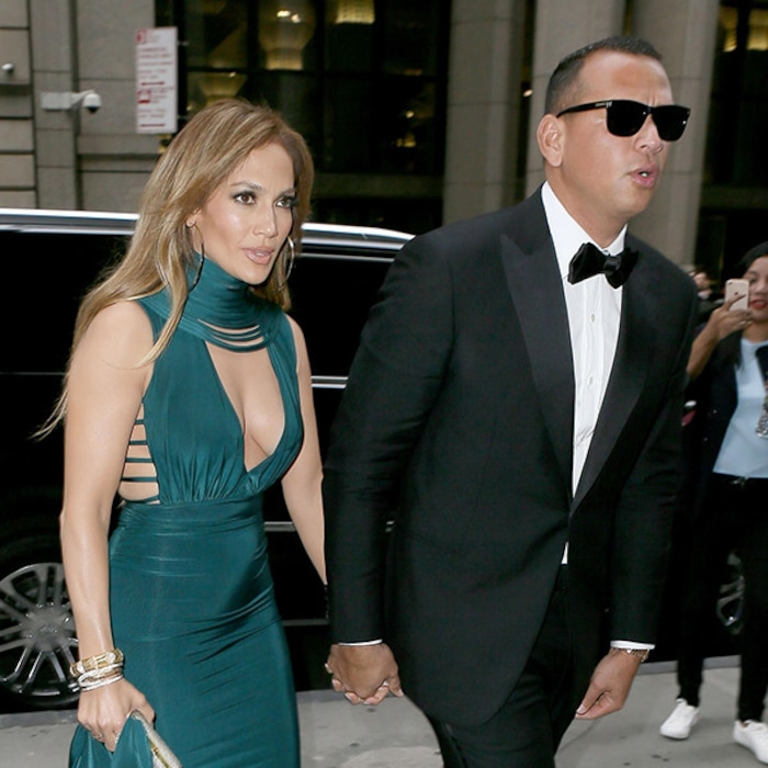 c0d4ddb65c Jennifer Lopez and Alex Rodriguez Are  RelationshipGoals at Their First  Wedding Together As a Couple