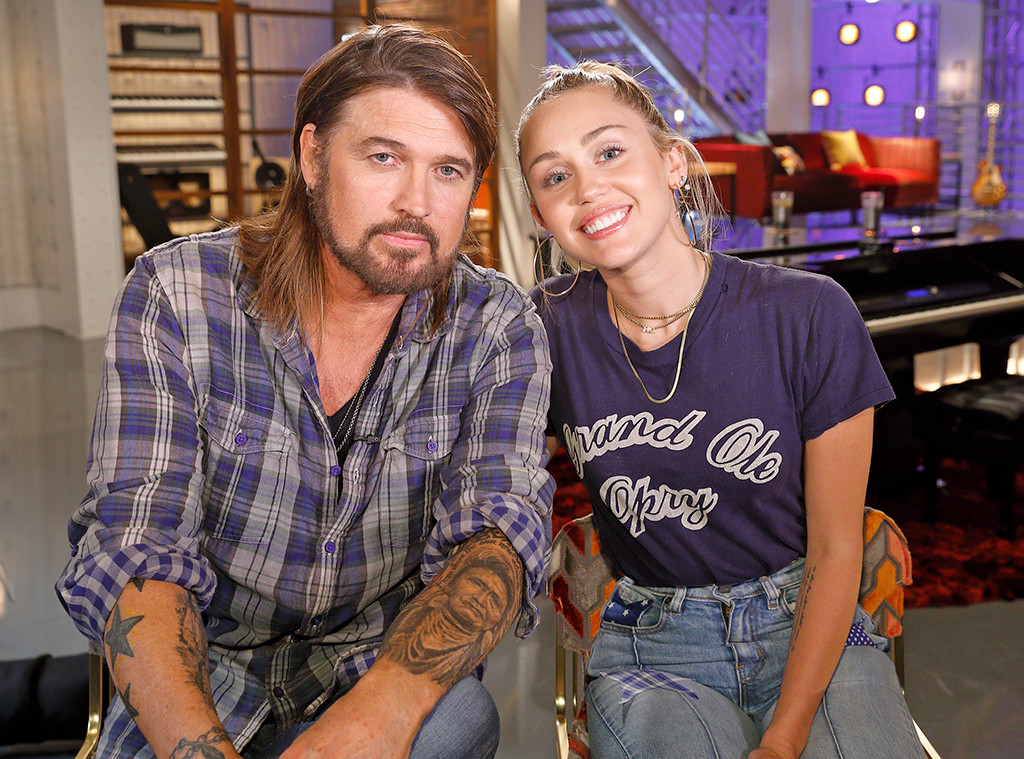 Billy Ray Cyrus, Miley Cyrus, The Voice