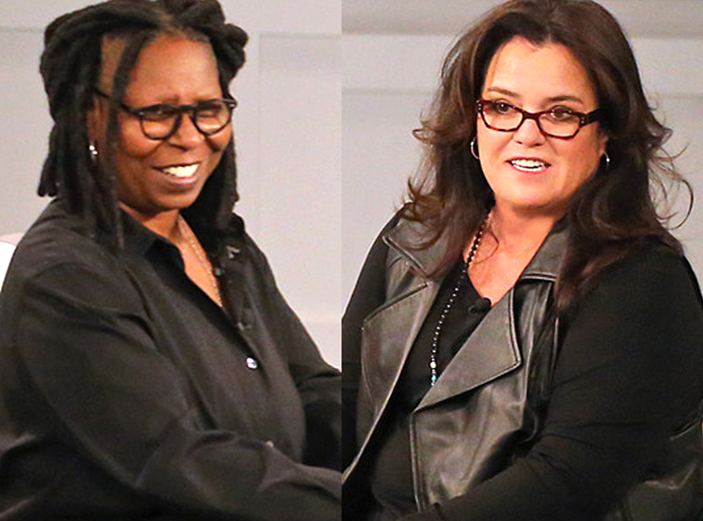 Whoopi Goldberg, Rosie O'Donnell, The View