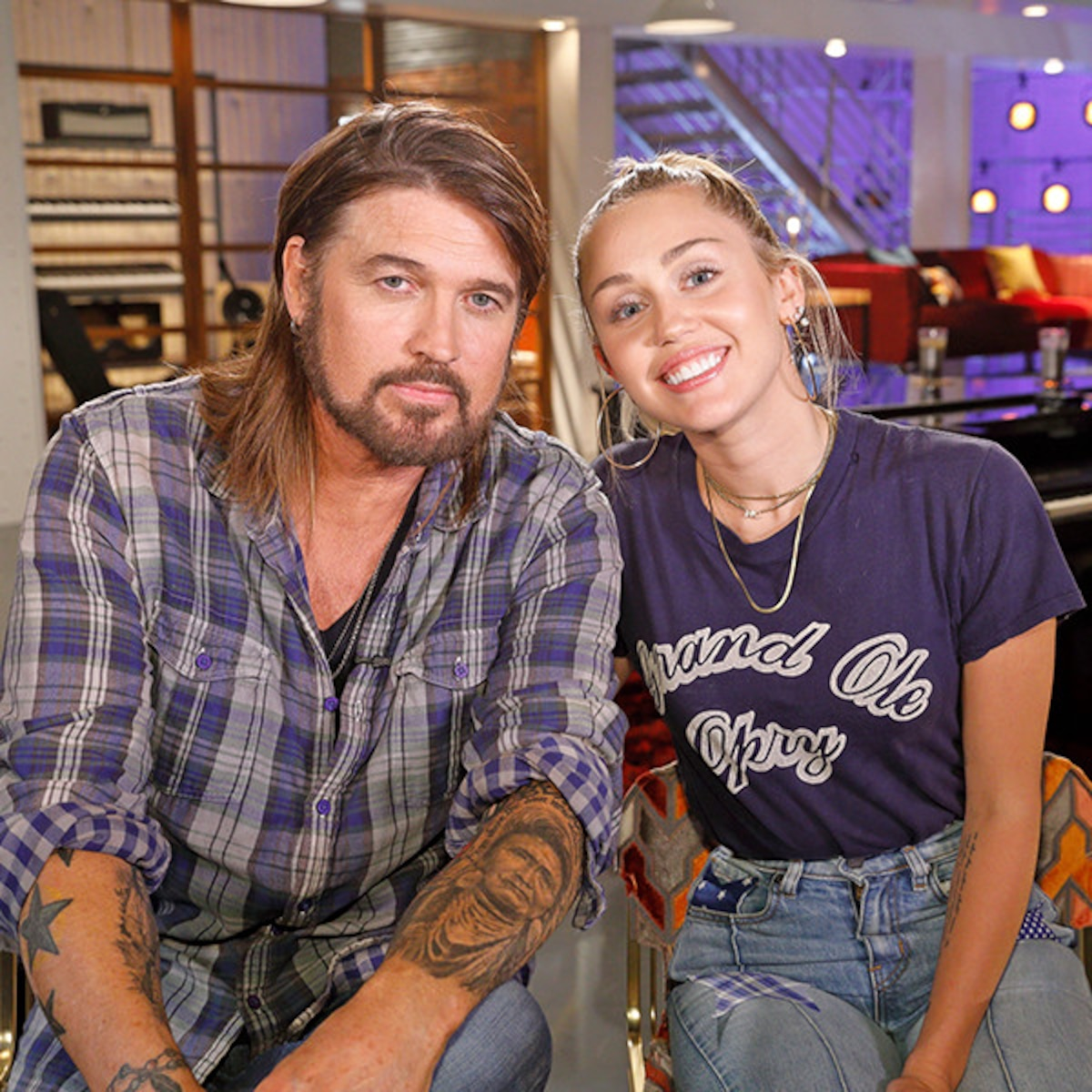 Look Back At Miley And Billy Ray Cyrus Best Father Daughter Moments E Online