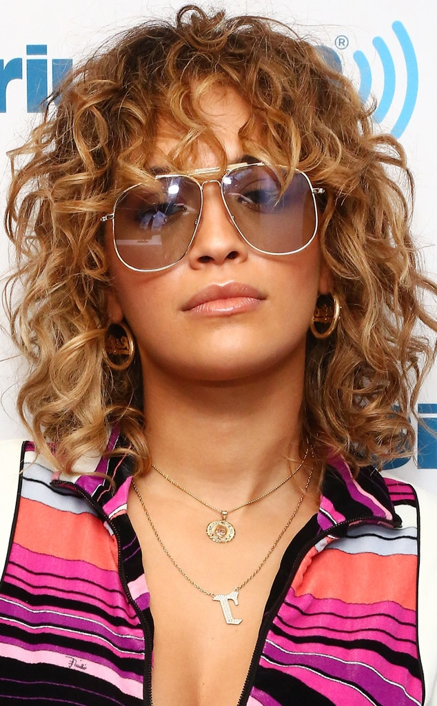Rita Ora from The Best Celebrity Curly Hairstyles   E! News