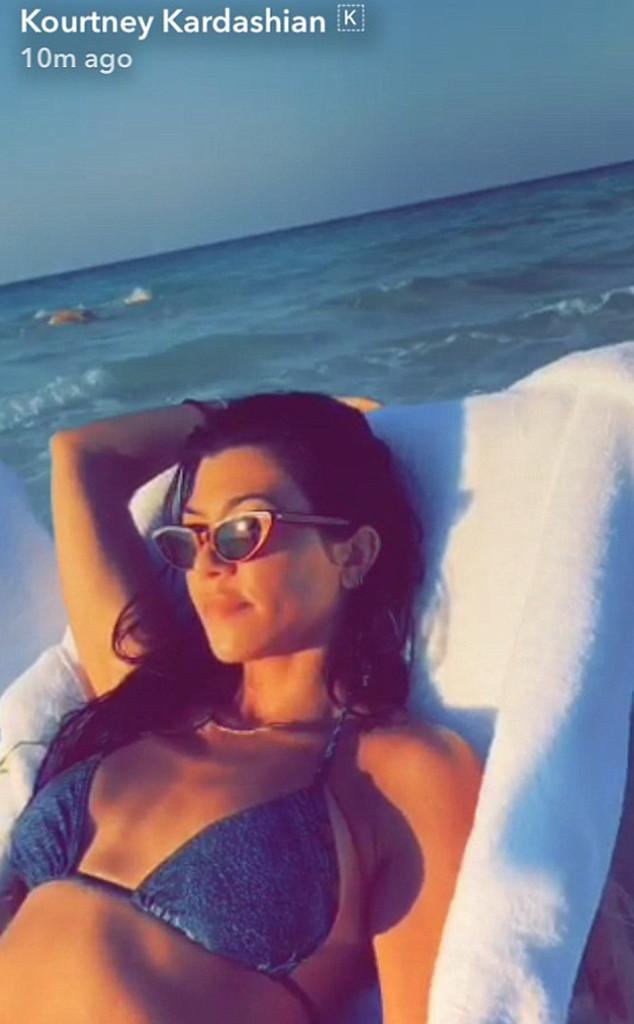 Kourtney Kardashian, Snapchat
