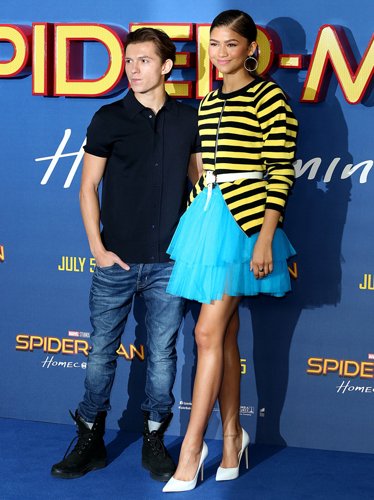 Zendaya, Tom Holland