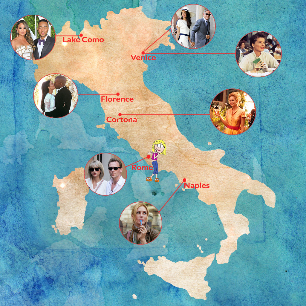 Vacation Like a Star Week, Italy
