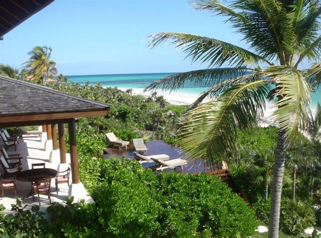 Chris Martin, Gwyneth Paltrow, Bahamas, Rental Home