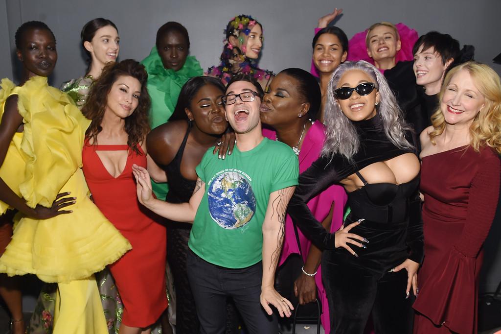 NYFW, Gina Gershon, Danielle Brooks, Cardi B, Christian Siriano, Leslie Jones, Cardi B, Models, Patricia Clarkson