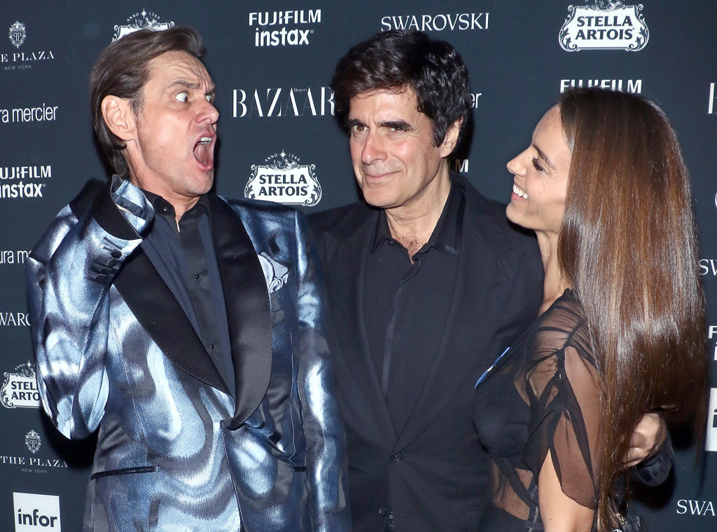 Jim Carrey, David Copperfield, Chloe Gosselin