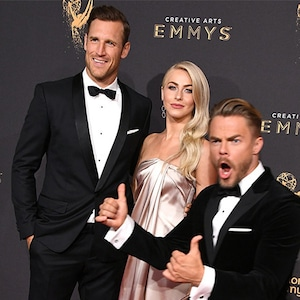 Julianne Hough, Derek Hough, Brooks Laich