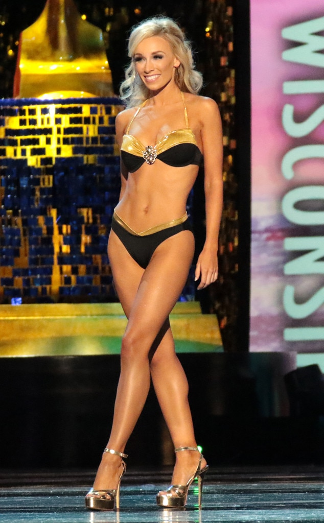 Miss America 2018, Swimsuit Challenge, Miss Wisconsin McKenna Collins