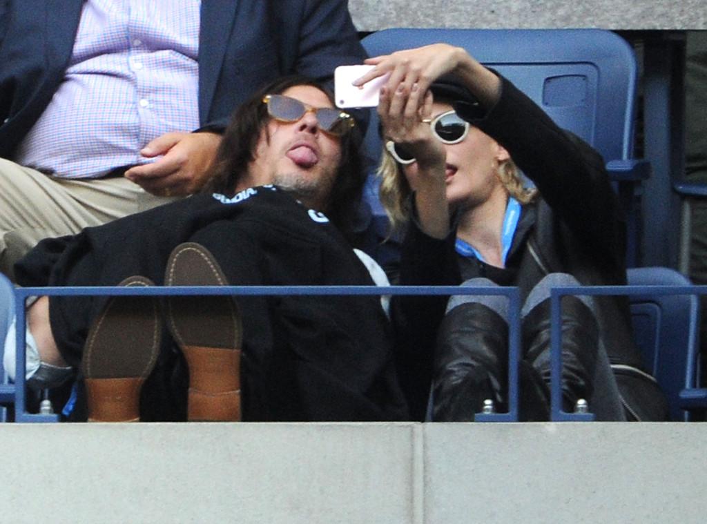 Diane Kruger, Norman Reedus, US Open Finals