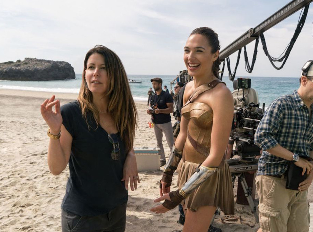 Gal Gadot, Patty Jenkins, Wonder Woman