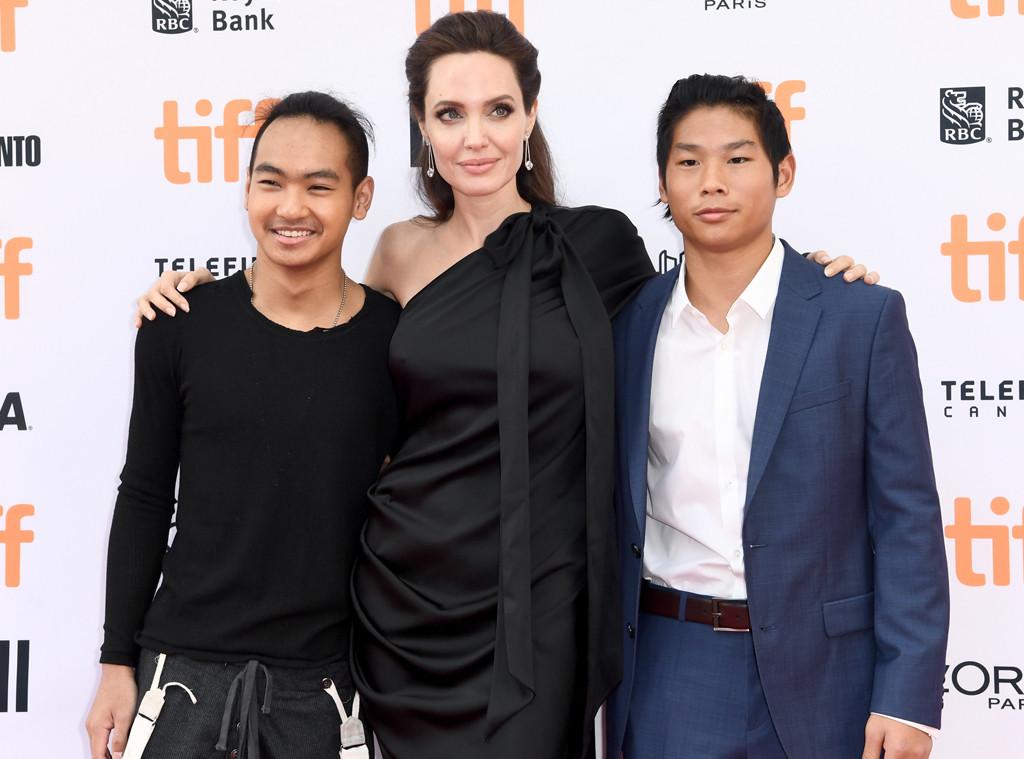 Maddox Jolie-Pitt, Angelina Jolie, Pax Jolie-Pitt