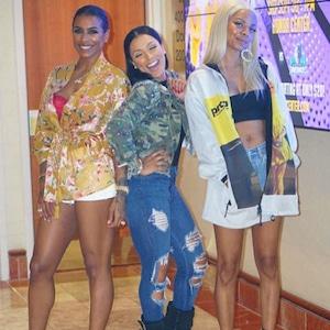 Alycia Bell, Shantel Jackson, Asiah Collins, The Platinum Life
